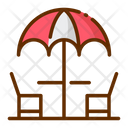 Terrace Summer Holiday Icon