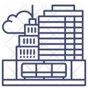Terrace Roofdeck Roof Icon