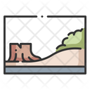 Terrarium Forest Zoo Icon