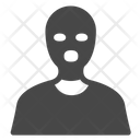 Terrorist Thief Criminal Icon