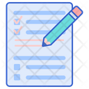 Test Test Sheet Test Paper Icon