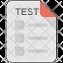 Test Exam Analysis Icon