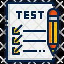 Test Exam Checklist Icon