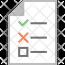 Audit Check Verification Icon
