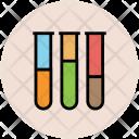 Test Tubes Testing Icon