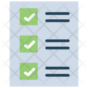 Test Case Checklist List Icon