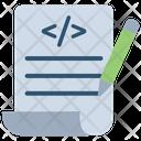 Test Case Code Writing Coding Icon