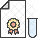 Certificate Test Tests Icon