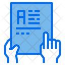 File Text Paper Icon