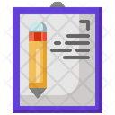 Test Paper Test Document Icon