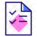 Test Paper Icon