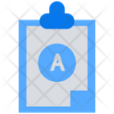 Report Card Test Result Exam Result Icon