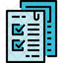 Test Result Education Exam File Document Icon