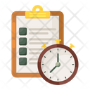 Test Schedule Icon