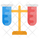 Chemical Laboratory Stand Icon