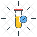 Test Tube Laboratory Research Icon