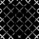 Test Tube Shield Lab Icon