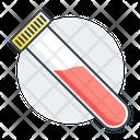 Test Tube Blood Test Tube Icon