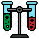 Test Tubes Flask Icon