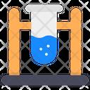 Test Tube Chemical Testing Chemistry Lab Icon