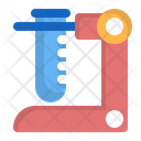 Test Tube Chemistry Education Icon