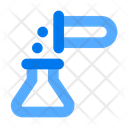 Test Tube Chemical Mixing Flask Icon