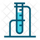 Test Tube Experiment Lab Icon
