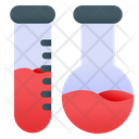 Test Tube Research Formula Icon
