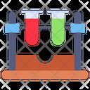 Test Tube Chemistry Lab Icon