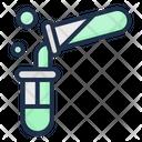 Test Tube Acid Rain Nuclear Icon