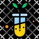 Test Tube Biology Lab Biological Icon