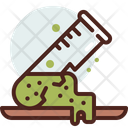 Test Tube Broke Experiment Science Experiment Icon