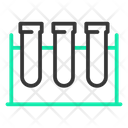 Test Tube Rack Icon