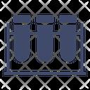 Test Tube Rack Icon