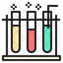 Test Tube Research Experiment Icon