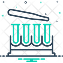 Test Tubes Research Laboratory Icon