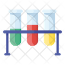 Test Tubes Laboratory Test Science Experiment Icon