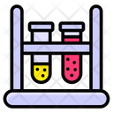 Test Tube Medical Apparatus Lab Tool Icon