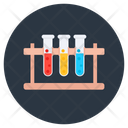 Test Tubes Chemistry Lab Lab Practical Icon