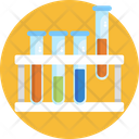 Test Tubes Laboratory Research Icon