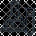 Test Tubes Experiment Laboratory Icon
