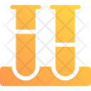 Test Tubes Science Experiment Icon