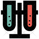 Test Tubes Laboratory Icon