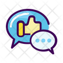 Business Testimonial Chat Icon