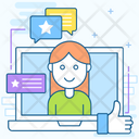 Feedback Customer Experience Testimonial Icon