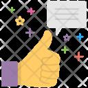 Positive Interaction Appreciation Icon