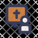 Testimony Faith Christianity Icon