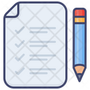 Testing Checklist Test Icon