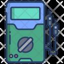 Testing Ammeter Voltmeter Icon