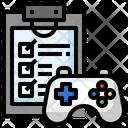 Testing Clipboard Check List Icon